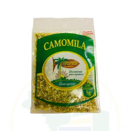 Kamille, dehydriert, rein - Camomila pura desidratada  - A Natureza - 5g