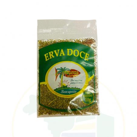 Fenchel, dehydriert, rein - Erva doce pura desidratada - A Natureza - 10g