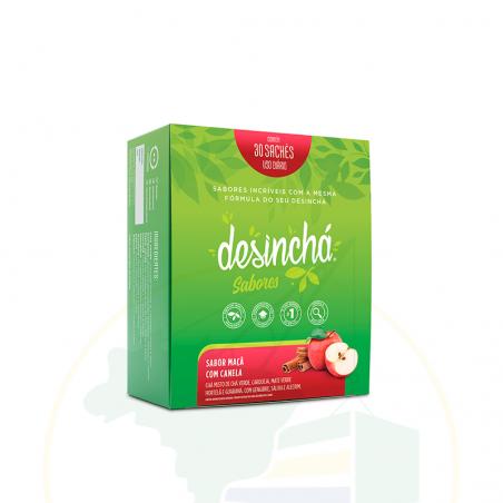 Kräuter Tee, Apfel- Zimtgeschmack - DESINCHÁ sabor Maçã e Canela - 30 sachês