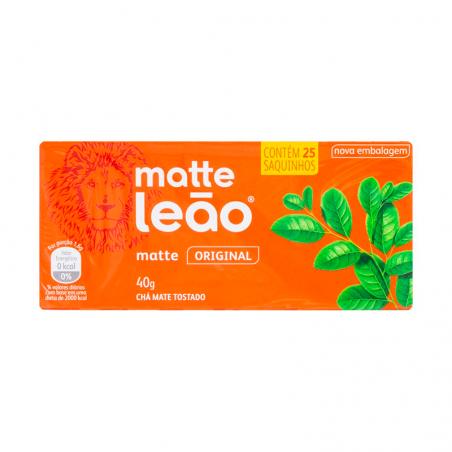 Chá Matte Leão tradicional - Sachê -  40g