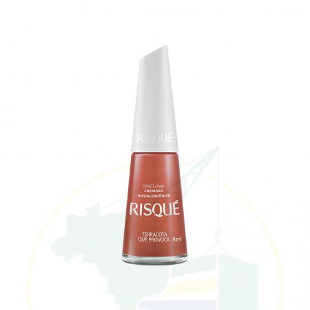 Nagellack - Esmalte Risqué Cremoso Nudes Terracota Provoca - 8ml